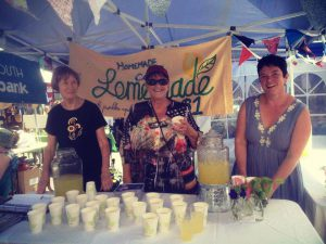 Hutt Timebank Lemonade Stand Petone Fair