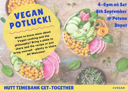 Hutt Timebank Vegan Potluck