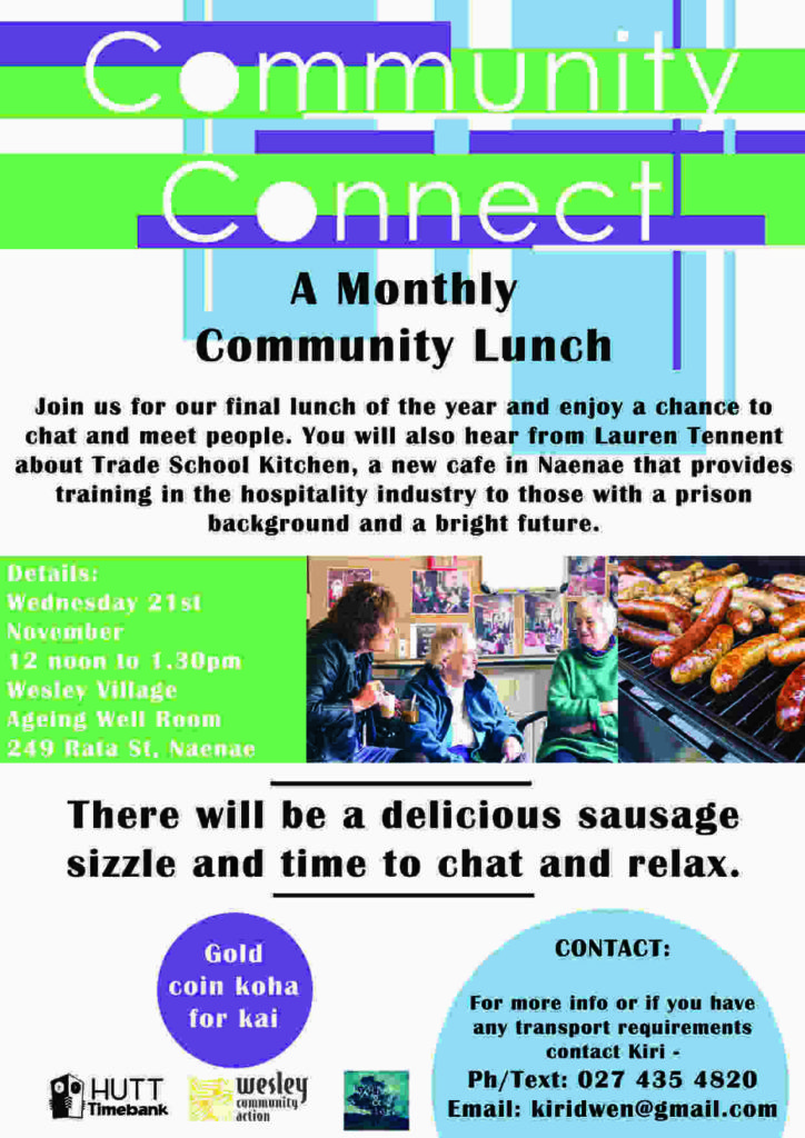 Community Connect Lunch November
