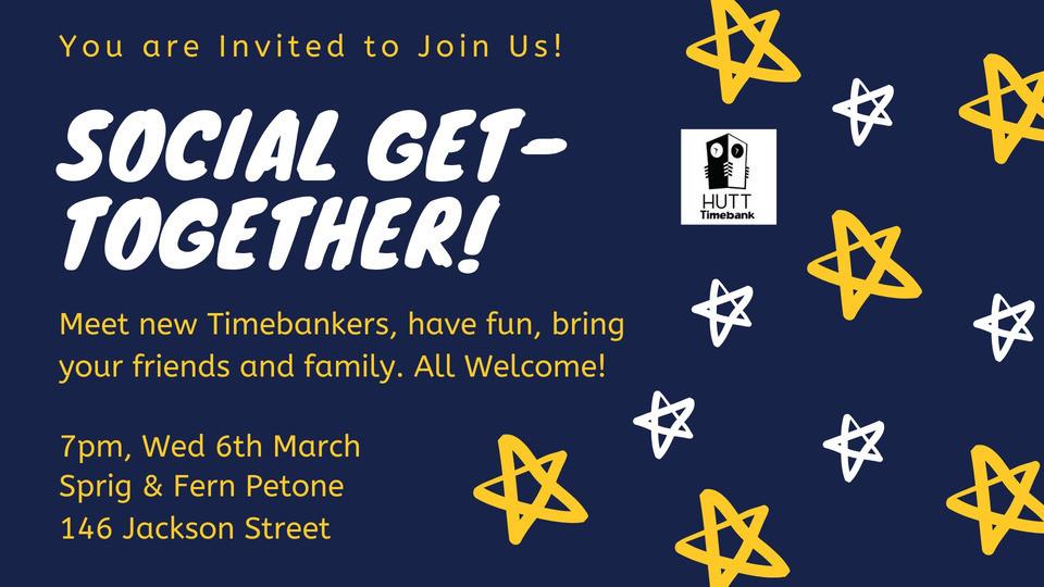 Hutt Timebank March 2019 Get together